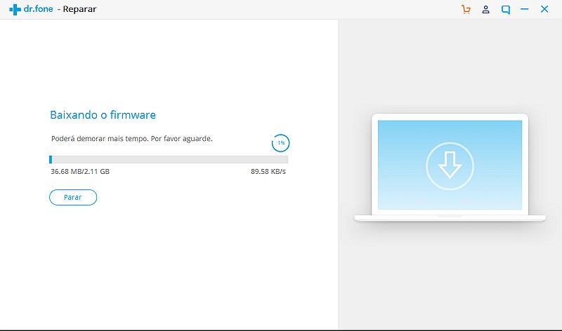 start downloading firmware