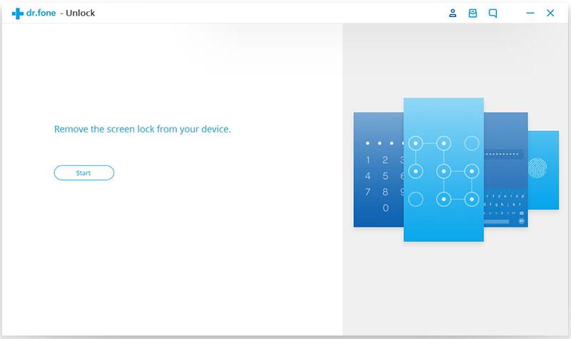 conecte o dispositivo para remover a tela de bloqueio do Android