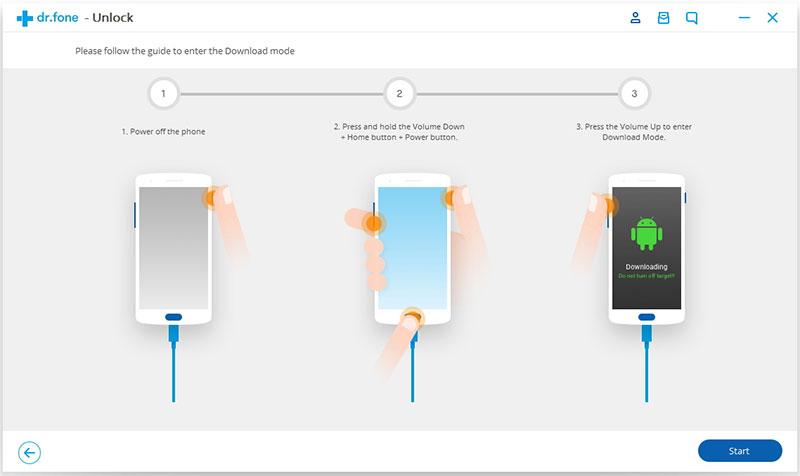 comece a remover a tela de bloqueio do Android