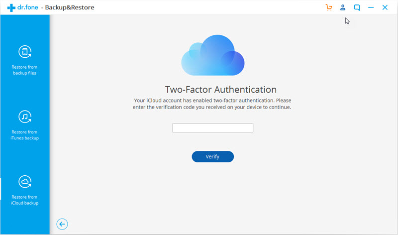 verification code of two factor authentication