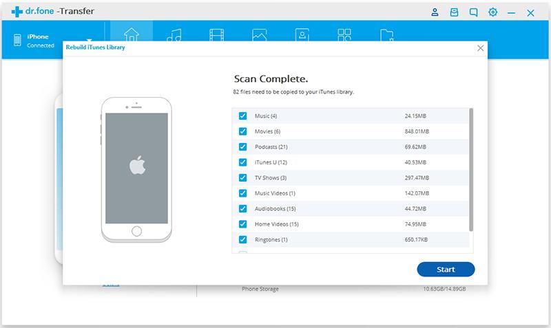 Audio von Computer auf iPhone/iPad/iPod übertragen - Ihr Apple Gerät verbinden