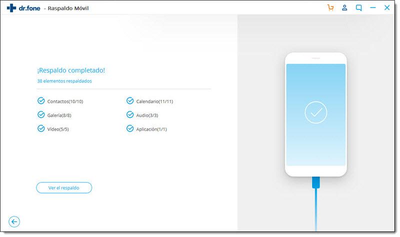 respaldo de datos android finalizado