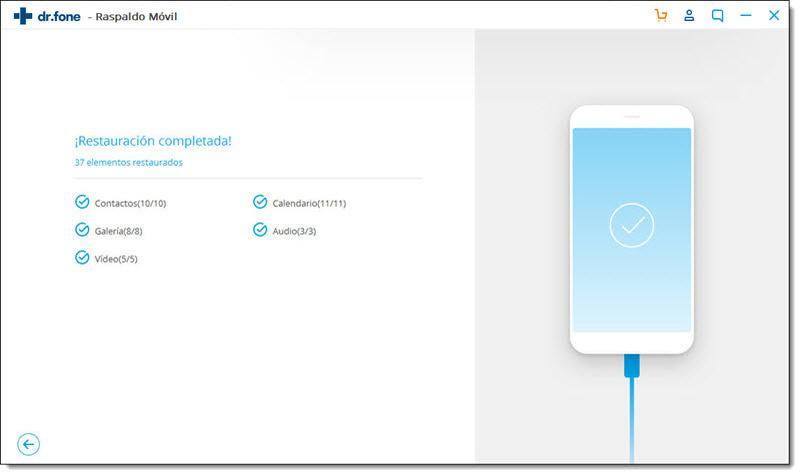 respaldo y restauración de datos del dispositivo Android
