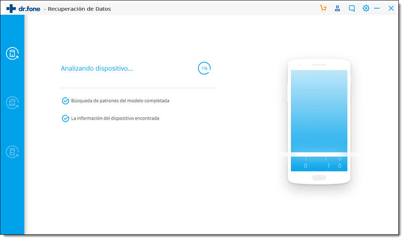 analizar dispositivo android