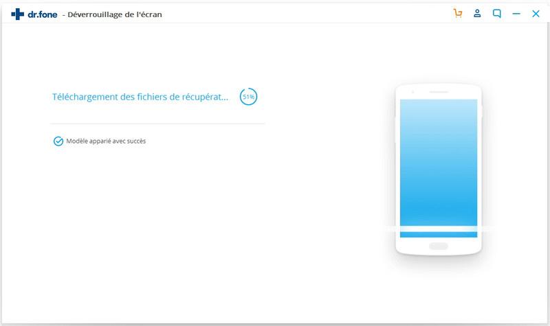 préparer à supprimer l'écran de verrouillage Android
