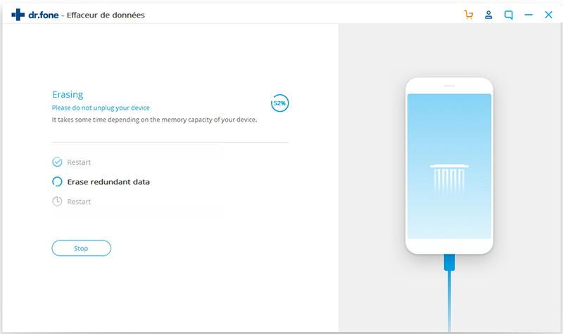 effacer la vie privée de l'iphone