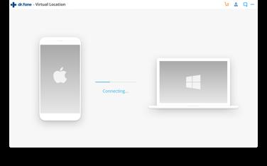 alterar localização no iphone -  passo 2