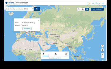 alterar localização no iphone -  passo 3