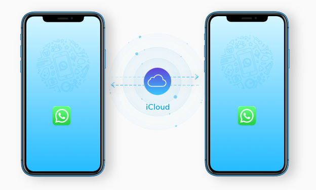 transfer whatsapp using local backup