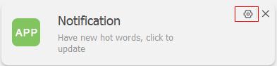 Block an app's notification step 1