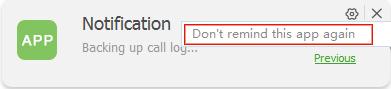 Block an app's notification step 2