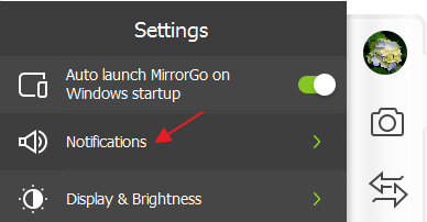 receive phone notifications on PC step 2