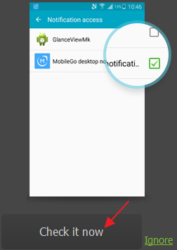 receive phone notifications on PC step 4