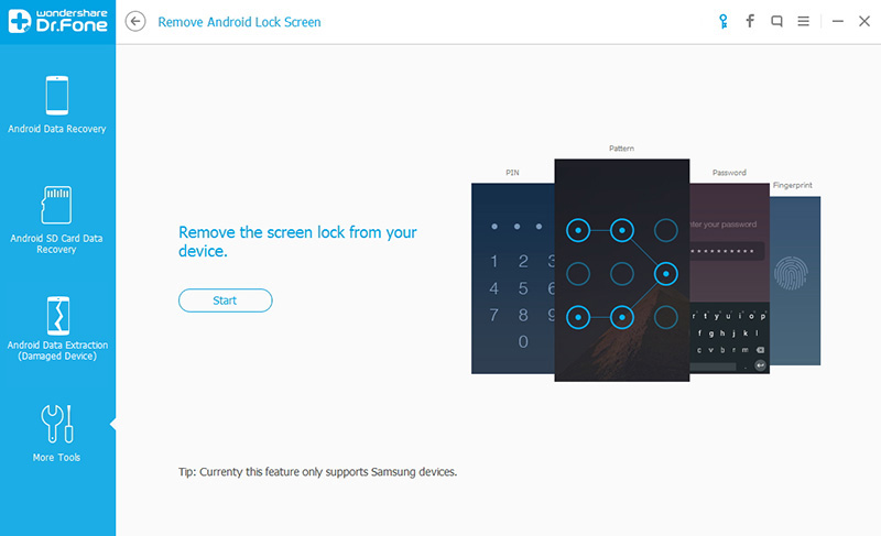 connect device to remove android lock screen